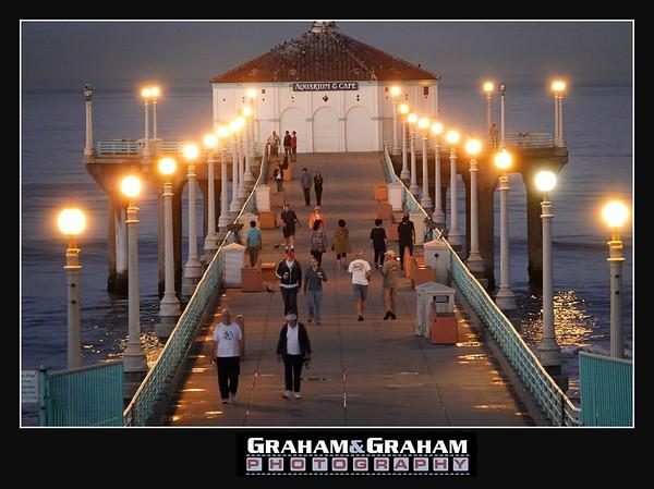 Manhattan Beach Pier in October
