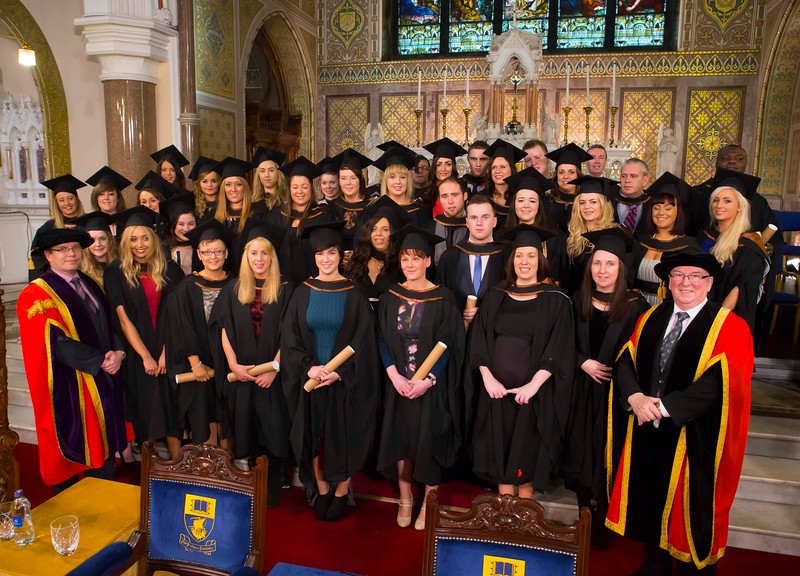 Waterford Institute Of Technology Conferring. pictured are those who graduated Bachelor of Arts (Honours) in Social Care. Picture: Patrick Browne