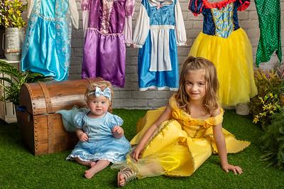 Georgia and Iris Princess