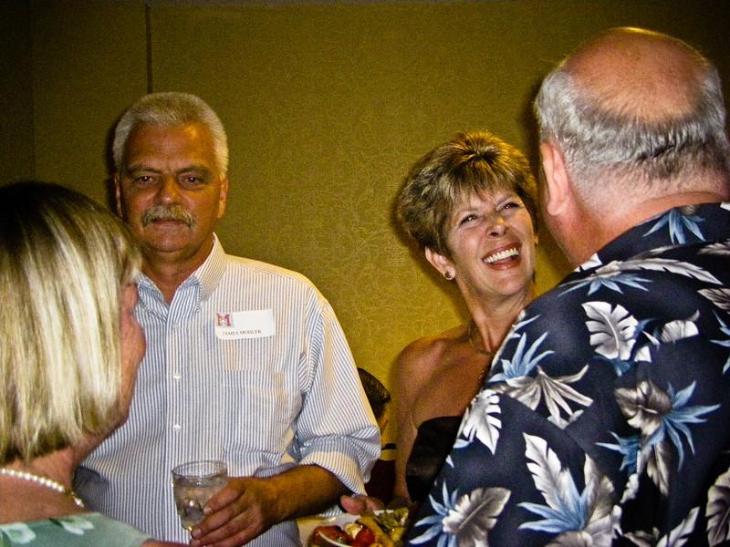 Pam Mohler, Kevin Mohler, Stephanie Griffith, Catfish Dale Bernard (GCM1972)