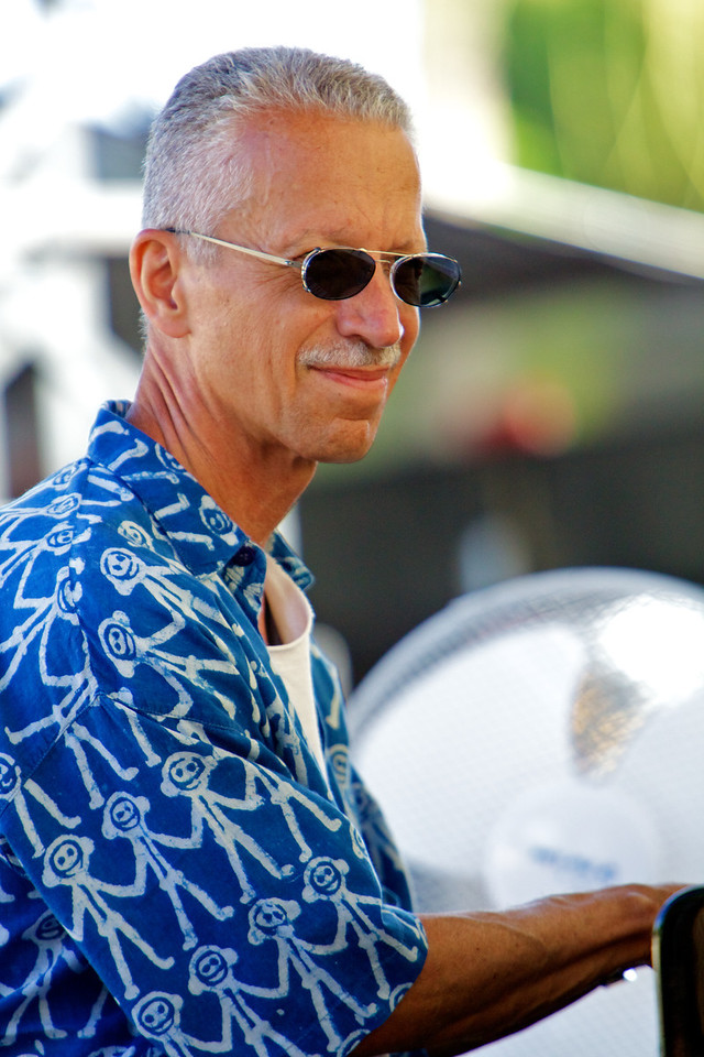 Keith Jarrett rehearsing with his trio at Jazz a Juan on 7/16/11