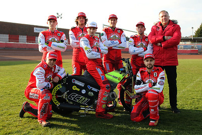 Glasgow Tigers riders 2019