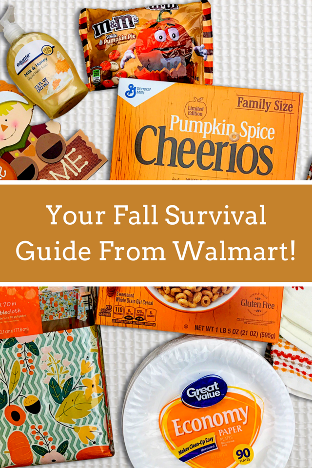 Having house guests this fall? Have no fear! Walmart.com has you fully covered for everything you may need for a good season. #ad #Walmart #FallinForWalmart
