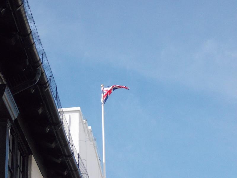 un drapeau d angleterre