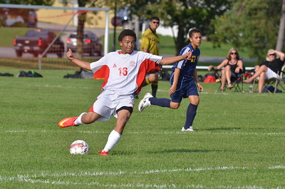 BJV Soccer vs GB 9-4-14