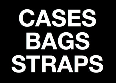 CASES BAGS STRAPS