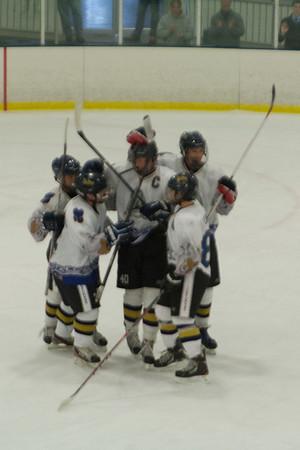 Delaware Ducks at Hatfield Ice Dogs 16A White 11-24-2013