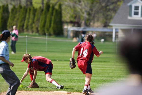 Taft Softball 4-26-08