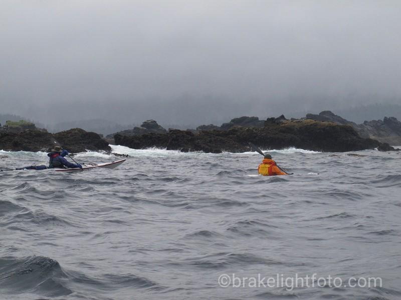 Nearing Breton Bay - Chanal Pt