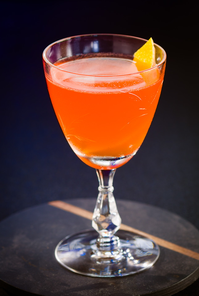 The Paper Plane Cocktail, photo © 2016 Douglas M. Ford. All rights reserved.