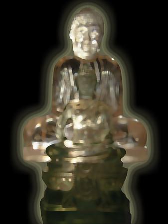 Peacfull rayonning Buddha