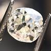 0.94ct Antique Cushion Cut Diamond GIA K Sl1 11