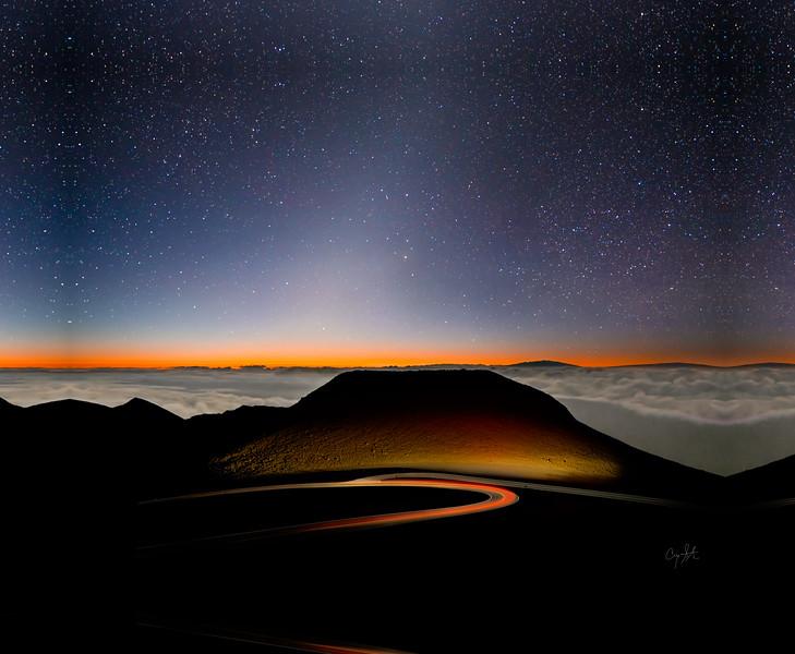 Zodiacal Sunrise - DSC01274-2-Edit-1 - Warped - 22 X 28 Canvas.jpg