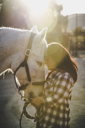 Louise + Horses
