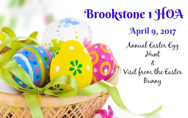 Brookstone 1 HOA - Easter 2017