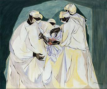 """Jacob Lawrence, """"Surgery, Harlem Hospital"""" (1953)"""