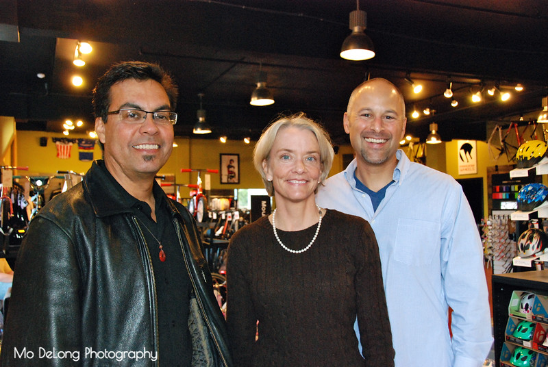 JIm Freed, Kathleen Frost and Bijan Karimi