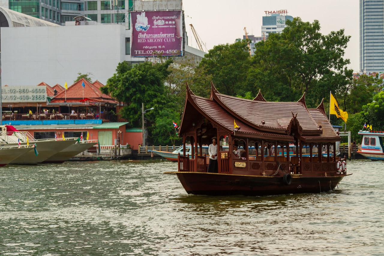 Mandarin Oriental Hotel Boat