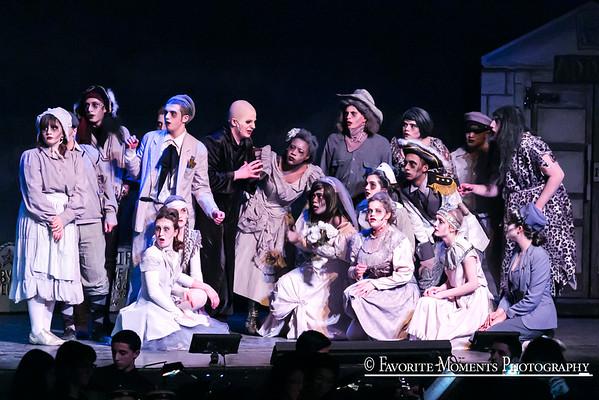 Ketcham High Presents The Addams Family