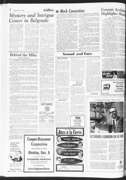 Daily Trojan, Vol. 47, No. 53, December 02, 1955