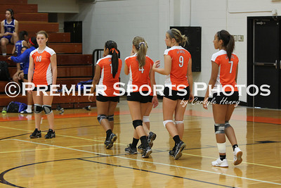 La Porte Freshman Volleyball vs Dickinson 8/17/2012