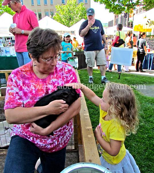 Easton Farmers Market, Easton, PA 5/19/2012