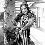 1936, Olvera St., Female Dancer