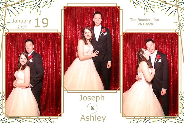 THE WEDDING OF ASHLEY AND JOSEPH