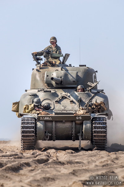 Portrait of a Tank Crew  Photography by Wayne Heim