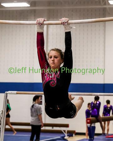 UGHS Gymnastics 3-11-2016