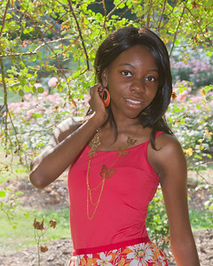 Model Shoot - Raleigh Rose Garden 5-22-11