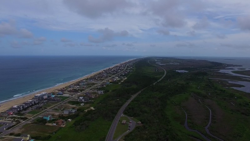 20150707HatterasSouth12 Drone Video Time