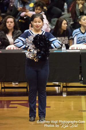 2/3/2018 Springbrook HS at MCPS County Poms Championship Blair HS Division 3, Photos by Jeffrey Vogt Photography with Kyle Hall