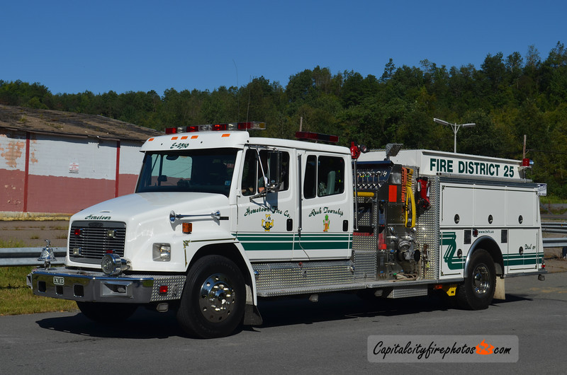 Hometown (Rush Township) Engine 25-10: 1996 Freightliner/KME 1250/750