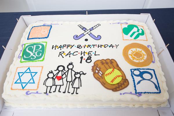 Rachel's 18th
