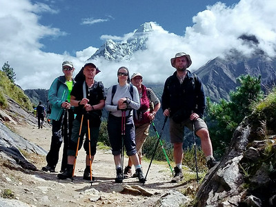 Треккинг к Эвересту - сентябрь 2016. Фоторепортаж