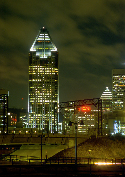 Downtown Montreal.