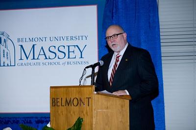 December Massey Business School Hooding Cermeony 2014