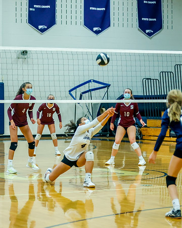 Covenant versus STAB volleyball 2021