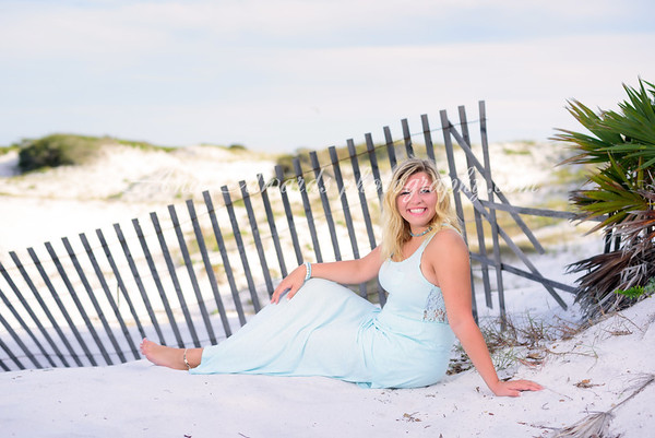 Aubrey.  2018 Lee County HS Senior  |  Grayton Beach