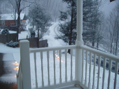 2008 Holiday Season Snow