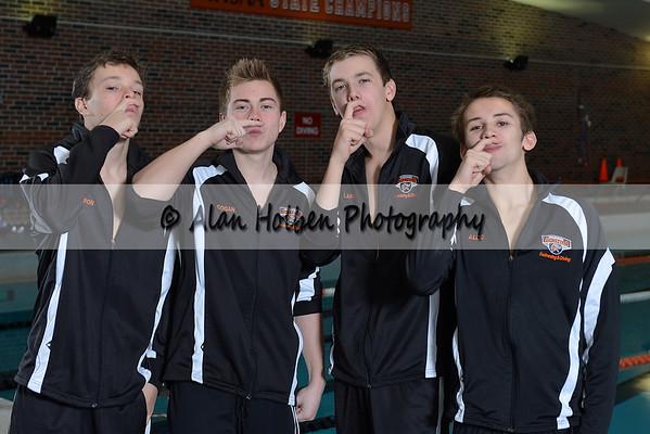 Jackson Boys swim team