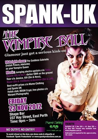 Spank - Vampire Ball (Nov 2012)