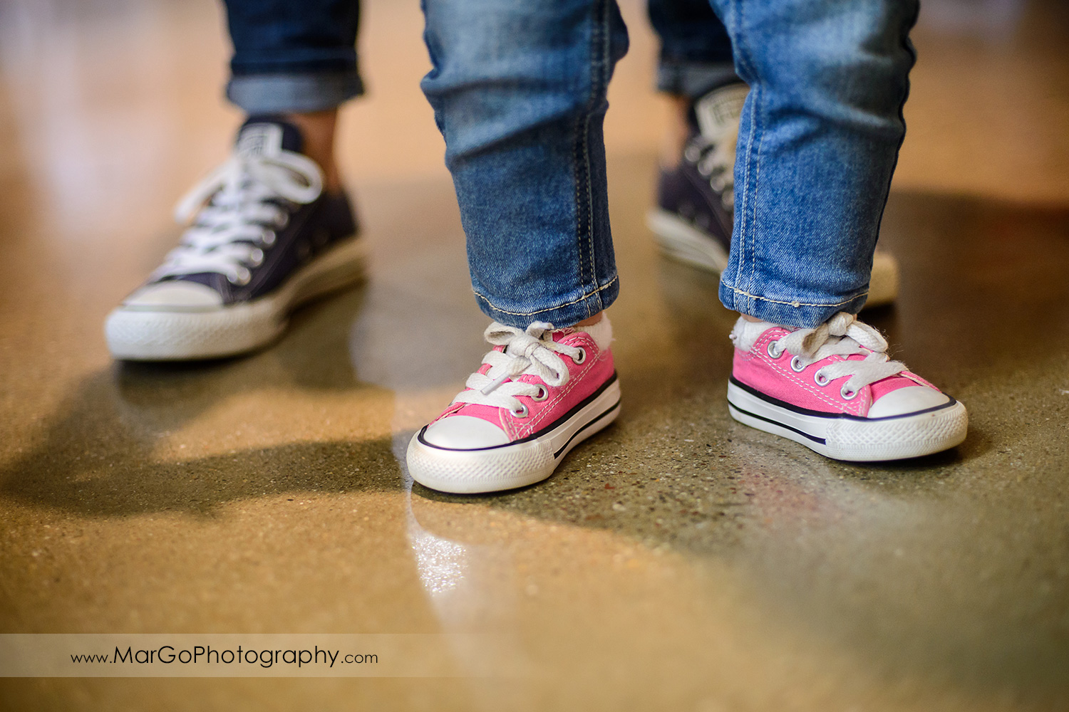 pink baby sneakers, Windmill Ridge Winery