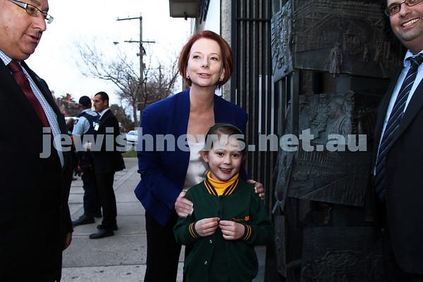 Prime Minister Gillard at Holocaust Museum