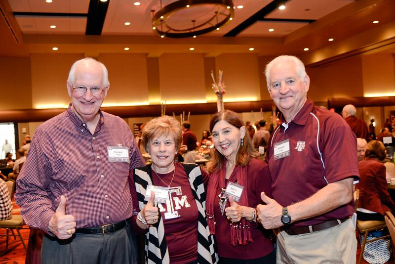 Ronald and Sondra Skaggs, Sharlee and Richard Skaggs