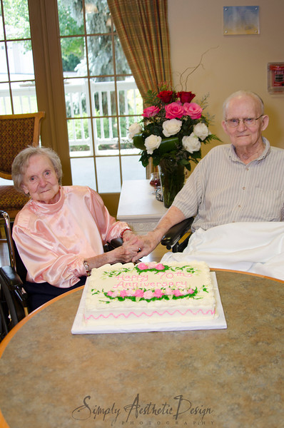 Hull Family 70th Anniversary