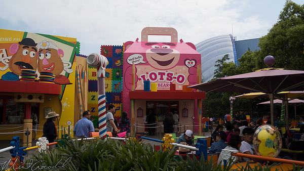 Disneyland, Shanghai Disneyland, Shanghai, China, Toy Story Land, Toy Story, Toy, Story, Woody, Jessie, Buzz, Lotso, Green, Army, Man, Men, Slinky, Rex, Bullseye