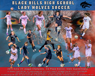 BHHS Girls Soccer individual albums