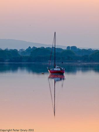 Dawn from Langstone Road Bridge - Olympus E5 camera